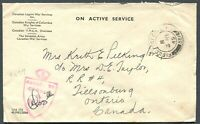 "CANADA WWII ERA MILITARY COVER F.P.O. CANCEL ""861"""