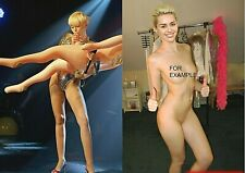 MILEY CYRUS Stage and Wardrobe doppel Foto Poster 20x30 cm (8x12 in) glanz