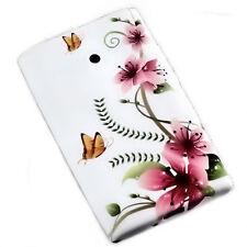 Design No.1 Silikon TPU Cover Case Handy Hülle  für LG E400 Optimus L3