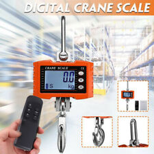 1T Digital Crane Scale 1000KG 2000LBS Voltage display Unit switch stability