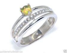 Unbehandelte Ringe mit Opal Edelsteinen 17,5 mm Ø) von (Sets