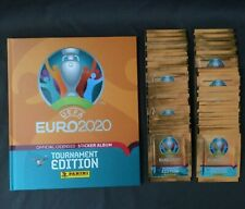 Panini EURO EM 2020 Tournament Edition- Hardcover Album + 50 Tüten (250 Sticker)