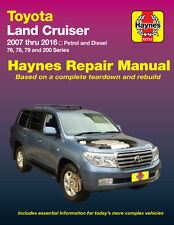 HAYNES WORKSHOP SERVICE REPAIR MANUAL Toyota Land Cruiser 76 78 79 200 2007-16