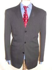 LUXURY MEN  EVOLURION CHARCOAL GREY   SUIT 42R  (52R EUR) W36 x L29