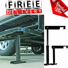 RV Step Stabilizer Camco Camper Self Stor Adjustable Stand Support Supplies