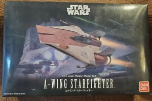 Bandai Star Wars A Wing Star Fighter New in Open Box US Seller