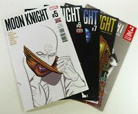 Marvel MOON KNIGHT (2016) #5 6 7 8 10 Lot LEMIRE Disney+ TV Show NM (9.4)