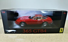 1/18 Hot Wheels Elite Ferrari 365 GTB4 in Red. New in box but Imperfect paint.