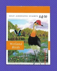 "1997 AUSTRALIA "" WETLAND BIRDS "" S/A BOOKLET ~ MINT UN HINGED ~"