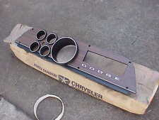 1972 73 74 Dodge Truck NOS Mopar Wood Grain DASH BEZEL Adventurer Power Wagon
