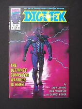 Digitek #1 #2 #3 #4  VF/NM 1992  Marvel UK Full Run Lot of 4 High Grade Books