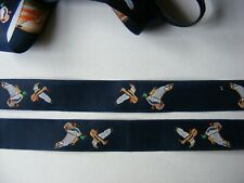 18MM  EMBROIDERED BRAID/RIBBON /TRIMMING MADE IN THE UK