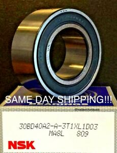 NSK Genuine Made in Japan 5106WCC Compressor Front Bearing 30x55x23 mm 30BD40A2