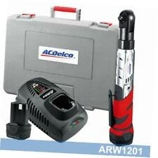"arw1201 li-ion 12v 3/8"" ratchet wrench w 2 battery, 57 ft-lbs"