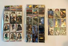 1993/1994 TOPPS STAR WARS CARDS - 3 Sets, SW Galaxy and Widevision + Extras