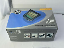 New listing Palm Pilot M100 Personal Digital Assistant Pda With Box Cds And Manual
