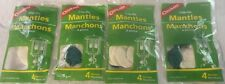 (4) 4 PKS (16) CLIP-ON MANTLES, UNIVERSAL FIT 1-2 MANTLE LIQUID/PROPANE LANTERNS