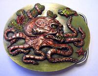 Gürtelschnalle Buckle Tauchen Tauchsport Octopus Diving