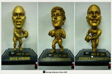 2008 Select NRL Stars Limited Edition Gold Figurines Team Set (3)-eels