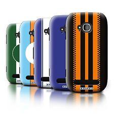 STUFF4 Back Case/Cover/Skin for Nokia Lumia 710/Racing Car Stripes