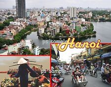 Vietnam - HANOI - Travel Souvenir Flexible Fridge Magnet