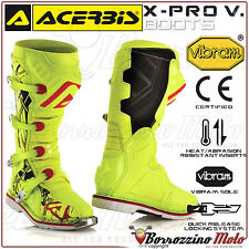 BOTTES ACERBIS X-PRO V. JAUNE OFF-ROAD MOTOCROSS MOTO CROSS QUAD ENDURO 45