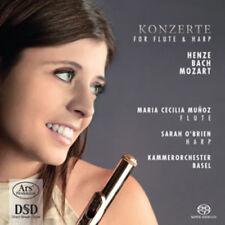 Hans Werner Henze : Konzerte for Flute & Harp CD (2014) ***NEW***