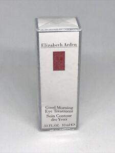 Elizabeth Arden Good Morning Eye Treatment .33 fl oz NIB Factory Sealed