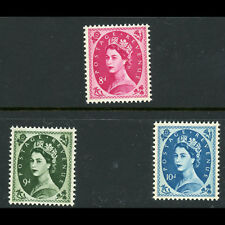 GREAT BRITAIN 1958-67 Multiple Crown Wmk. 8d 9d & 10d. Mint Never Hinged (AT694)
