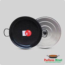 Vaello Campos - La Valenciana 40cm Enamelled Steel Paella Pan 40 Cm