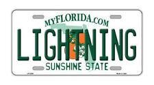 Metal Vanity License Plate Tag Cover - Tampa Bay Lightning - Hockey Team