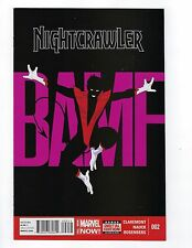Nightcrawler # 2 1st Print NM Marvel (2014)
