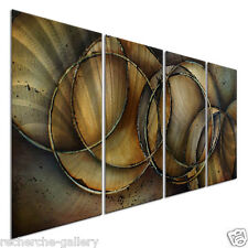 Metal Art Hand Made Home Decor Modern Wall Sculpture Loops of life