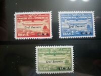 """SC 4CL8-10 Brazil 1930 """"Graf Zeppelin"""" Air Mail Stamp Reproduction Place Holders"""