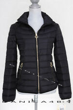 MICHAEL KORS Quilted Packable Hooded Down Puffer Jacket Coat S Black