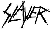 SLAYER HARD ROCK BAND DIE CUT VINYL DECAL PUNK HEAVEY ROCK MUSIC CHOOSE COLOR