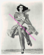 RITA HAYWORTH LEGGY DANCING UPSKIRT #2    8 X 10 PHOTO A-RH28