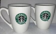 Starbucks ~ 2 Coffee Mugs ~ 10.2 oz - 2007 (D)