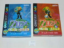 Game Boy Color JAP The Legend of Zelda Oracle of Ages & Seasons