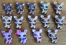 Littlest Pet Shop Deer Lot of 14 Brown Pink LPS
