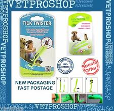 O'Tom TICK TWISTER - TICK REMOVER 2 PK for Cats, Dogs and Human - Made in France