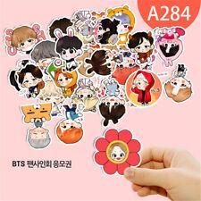 30pcs KPOP Bangtan Boys BTS Cartoon Jin Suga V Decal Sticker DIY Album Scrapbook