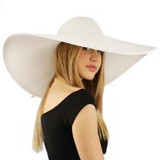 95da4f530 White Wide Brim Hats for Women | eBay