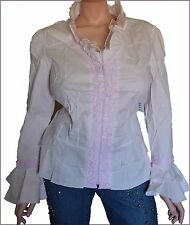 Plus Size 1X Womens Clothes Zipper Jacket  Long Bell Sleeve Top Blouse NWT NEW