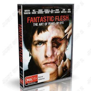 Fantastic Flesh The Art Of Make Up EFX : Horror Documentary : Brand New DVD