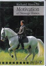 HORSE DVD MOTIVATION OF DRESSAGE HORSES Richard Hinrichs