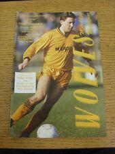 04/03/1989 Wolverhampton Wanderers v Bolton Wanderers [Division 3 Championship S