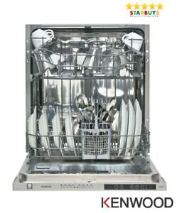 Kenwood KID60S18 Full-size Fully Integrated Built-in Dishwasher - 60cm - A++