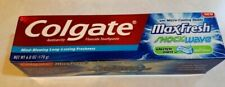 Hard to Find Colgate MaxFresh Shockwave Toothpaste 6 Oz Elect Mint-Discontined