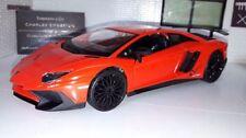 Voitures, camions et fourgons miniatures orange en plastique pour Lamborghini
